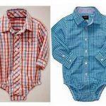 Body camisa para bebés