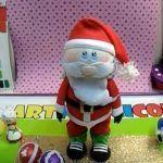 Papá Noel fofucho con moldes