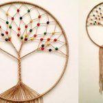 DIY Atrapasueños árbol de la vida