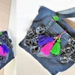 DIY Bolso vaquero reciclado