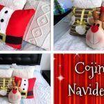 DIY Como hacer cojines Navideños