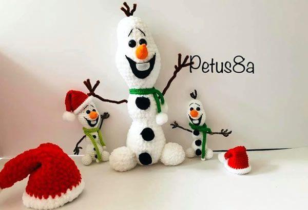Patrones de Amigurumis para Navidad - Patrones gratis | 410x600