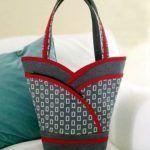 DIY Bolso cesta muy popular fácil de hacer