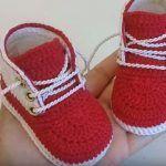 DIY Botitas bebé a crochet modelo Eduardo