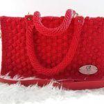 DIY Bolso san Valentín tejido a crochet
