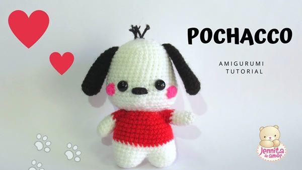 FREE Pug Amigurumi Pattern by The Crochet Jar | Amigurumi patrones ... | 338x600