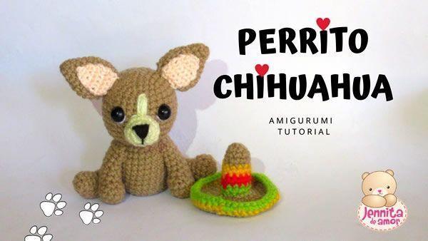 PROJECT #027: AMIGURUMI DOG WITH DIY FUR | 338x600