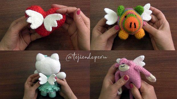Como tejer Unicornio amigurumi tejido a crochet - Paso a Paso ... | 348x621