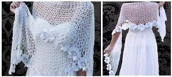 DIY Chal tejido a crochet muy fácil de hacer