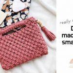DIY Como hacer un Bolso macramé