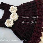 Como hacer vestido tejido a crochet