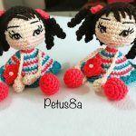 DIY Muñeca amigurumi para tus muñecas
