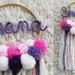 DIY Atrapa sueños con Nombre
