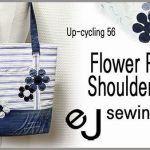 DIY Bolso con flores reciclado
