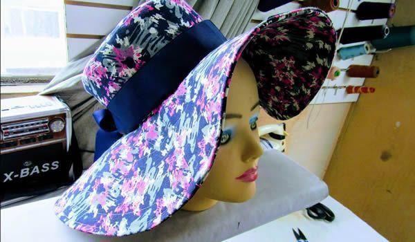 DIY Sombrero elegante para el verano