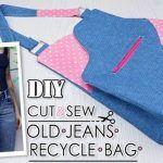 DIY Bolso de diseño reciclado