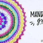 DIY Mandala grande paso a paso