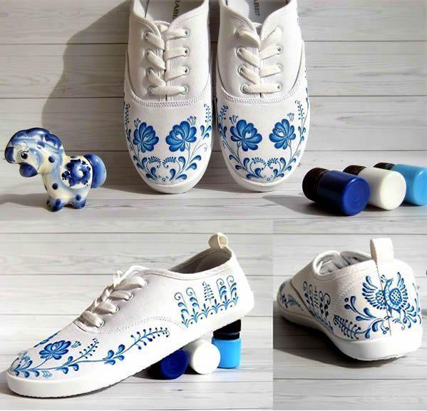 Como decorar o customizar zapatillas