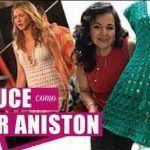 Vestido de Jennifer Aniston tejido a crochet