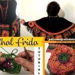 DIY Como hacer un Chal Frida tejido a crochet