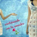 DIY vestido tejido a crochet para Playa