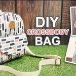 DIY Como hacer un bolso bandolera de tela