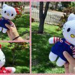 Hello Kitty tejida a crochet