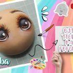 DIY Pintar Ojos tiernos a fofuchas
