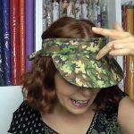 DIY Como hacer una visera de camuflaje