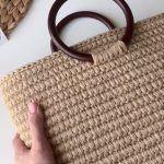 DIY Bolso cesta de verano con cuerda de yute