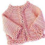 DIY Chaqueta de invierno para bebé a crochet