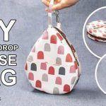 DIY Neceser con forma gota de agua