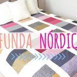 DIY Funda nórdica con retales de tela