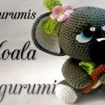 Koala muñeco amigurumi paso a paso