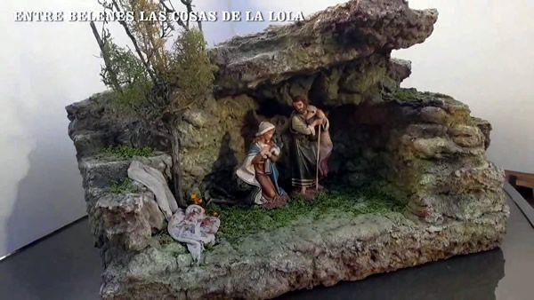 DIY Nacimiento cueva paso a paso