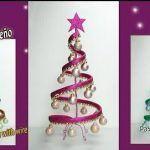 Árbol navideño con alambre y foamy