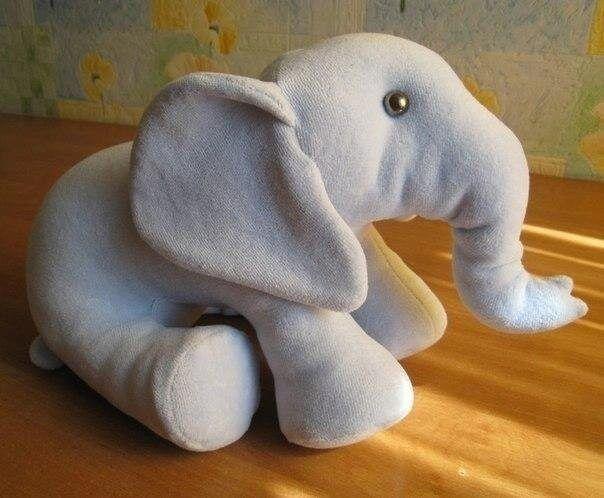 Muñeco Elefante de tela