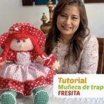 DIY Muñeca de trapo Fresita paso a paso