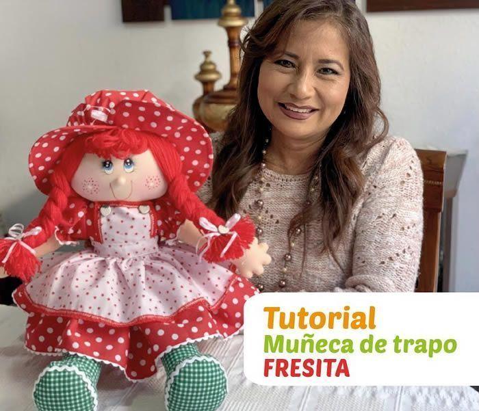 DIY Muñeca de trapo Fresita