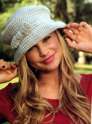 Sombrero para el frío tejido a crochet