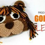 Gorro de León tejido a crochet paso a paso