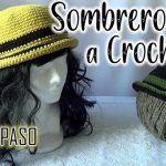 Sombrero tejido a crochet súper fácil