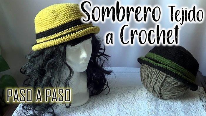 DIY Sombrero a crochet