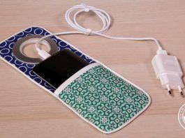 Soporte cargador para teléfono móvil
