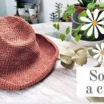 DIY Sombrero fácil tejido a crochet