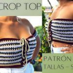 DIY Top crochet fácil paso a paso