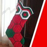 Bota Navideña a crochet paso a paso