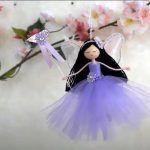 Muñeca hada bailarina para decorar paso a paso