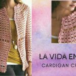 Cárdigan Blusa tejido a crochet DIY paso a paso