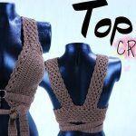 Top crochet con aro muy fácil DIY